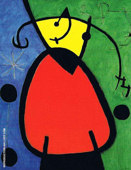 Break of Day 1968 By Joan Miro