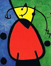Break of Day 1968 By Joan Miro