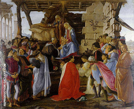 Adoration of the Magi c1470-74 By Sandro Botticelli