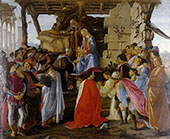 Adoration of the Magi c1470-74 By Sandro Botticelli