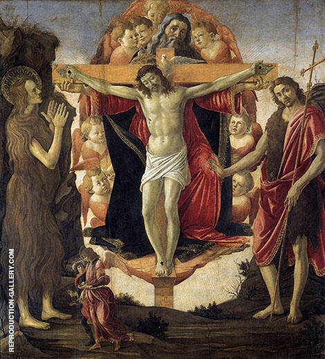 Holy Trinity c1491-1493 By Sandro Botticelli