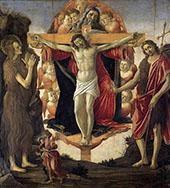 Holy Trinity c1491-1493 By Sandro Botticelli