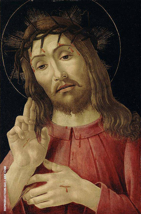 The Resurrected Christ By Sandro Botticelli