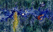 Act 1, Firebird By Marc Chagall