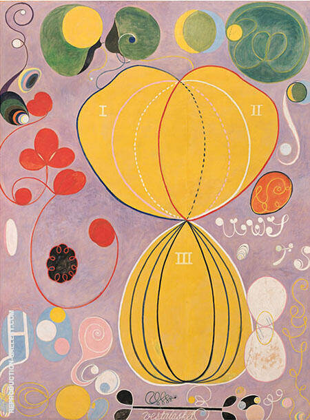 Humanity Painting By Hilma AF Klint - Reproduction Gallery