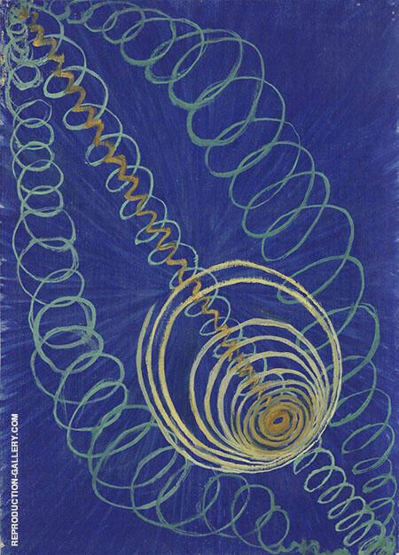 Primordial Chaos No 16 By Hilma AF Klint