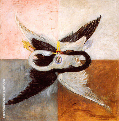 The Swan 1914 By Hilma AF Klint
