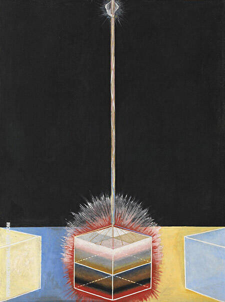 The Dove No 2 Painting By Hilma AF Klint - Reproduction Gallery