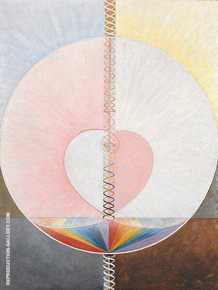 The Dove No 25 Painting By Hilma AF Klint - Reproduction Gallery