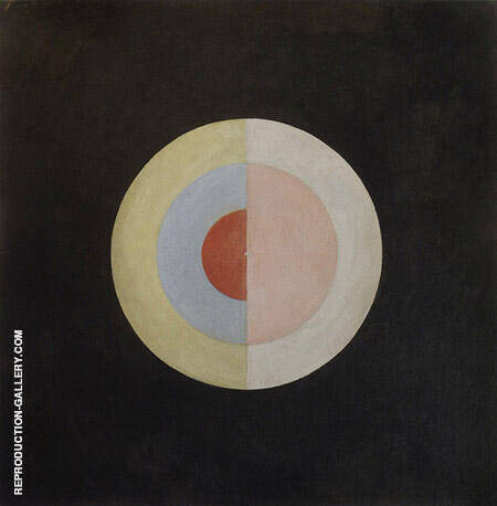 Reproduction of The Swan No 16 by Hilma AF Klint | Oil Painting Replica On CanvasReproduction Gallery