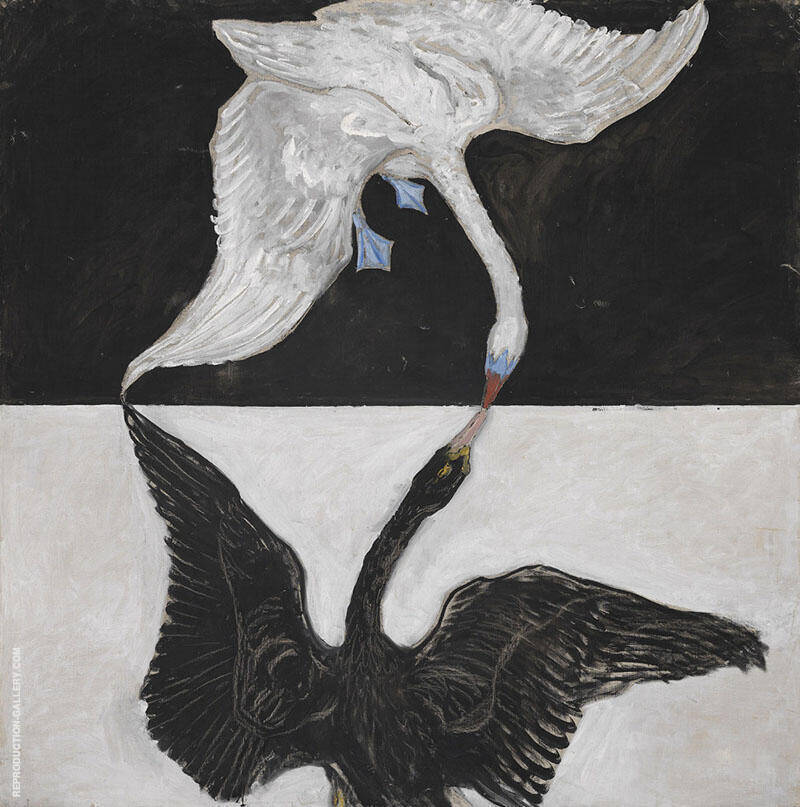 The Swan No 17 Painting By Hilma AF Klint - Reproduction Gallery