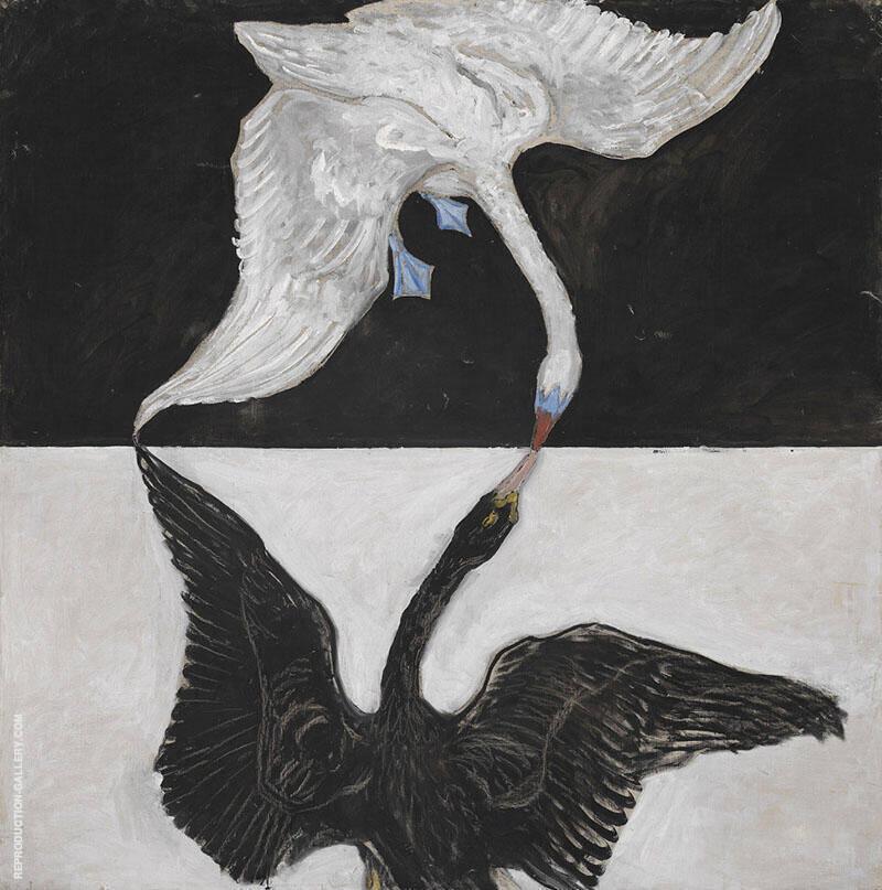 The Swan No 17 By Hilma AF Klint