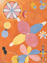 The Ten Largest No 3 Youth Group IV 1907 By Hilma AF Klint