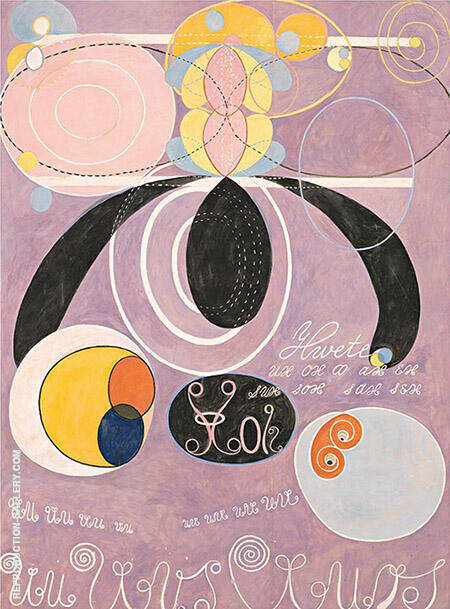 The Ten Largest No 6 Adulthood Group IV 1907 Painting By Hilma AF Klint