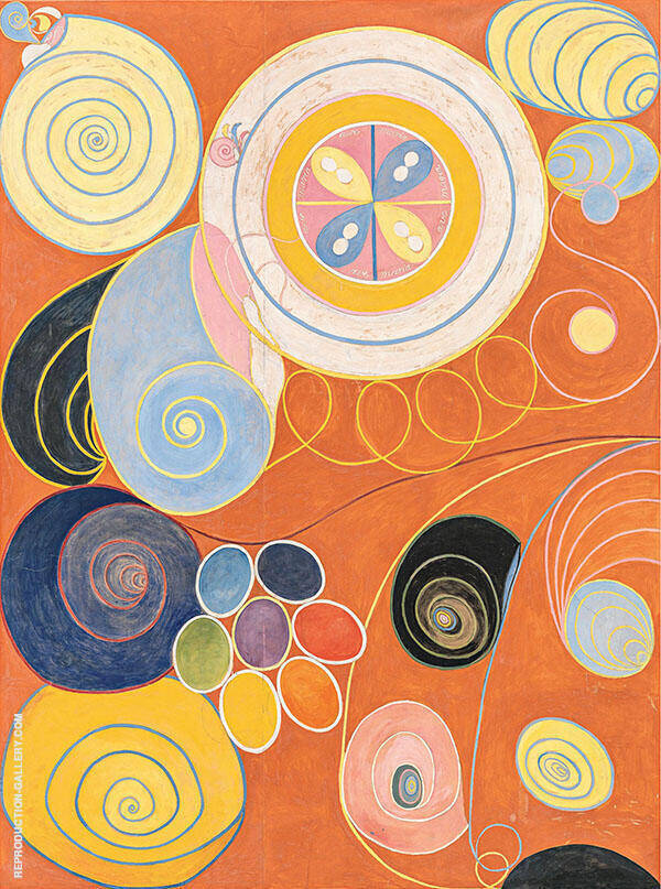The Ten Mainstay IV 1907 Painting By Hilma AF Klint - Reproduction Gallery