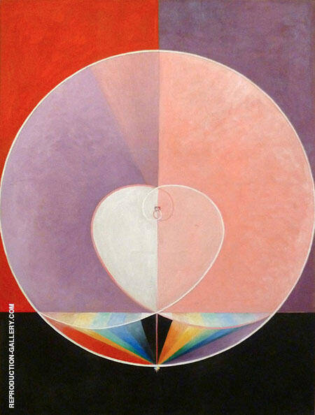 What a Human Being Is Painting By Hilma AF Klint - Reproduction Gallery