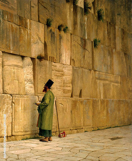 The Wailing Wall Painting By Jean Leon Gerome - Reproduction Gallery