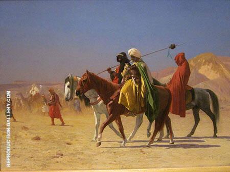 Arabs Crossing The Desert By Jean Leon Gerome