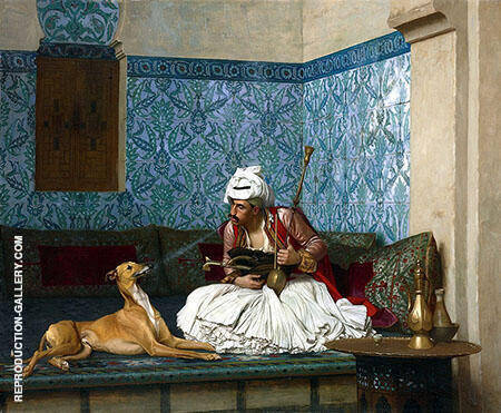 Arnaut and His Dog By Jean Leon Gerome