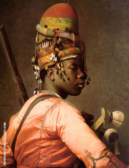 Bashi Bazouk II Painting By Jean Leon Gerome - Reproduction Gallery