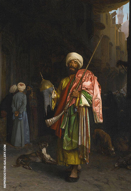 Marchand Ambulant Au Caire By Jean Leon Gerome