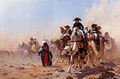 Napoleon and His General Staff 1867 By Jean Leon Gerome