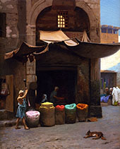 The Color Grinder By Jean Leon Gerome