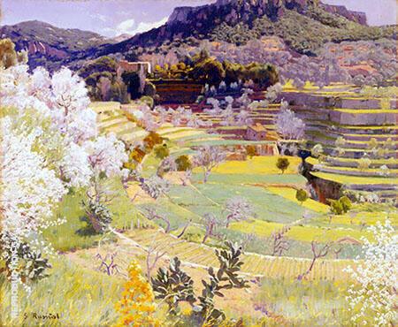 Almendros en Flor Mallorca By Santiago Rusinol