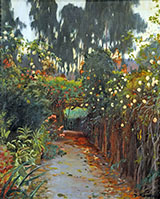 Camino de Rosas By Santiago Rusinol