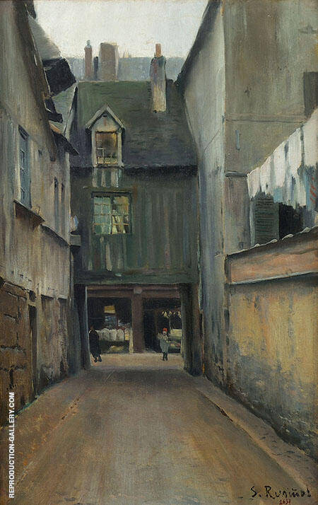 Carrer de Rouen By Santiago Rusinol