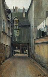 Carrer de Rouen By Santiago Rusinol