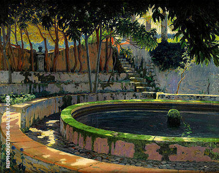 Moragues 1903 By Santiago Rusinol
