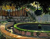 Moragues 1903 By Santiago Rusinol