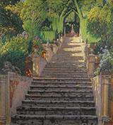 The Old Stairs Raixa By Santiago Rusinol