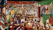Christ's Entry into Brussels 1889 By James Ensor