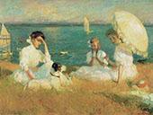 Summer Afternoon 1906 By Frank Weston Benson