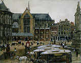 The Dam in Amsterdam By George Hendrik Breitner