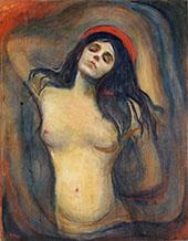 Madonna c1894 By Edvard Munch