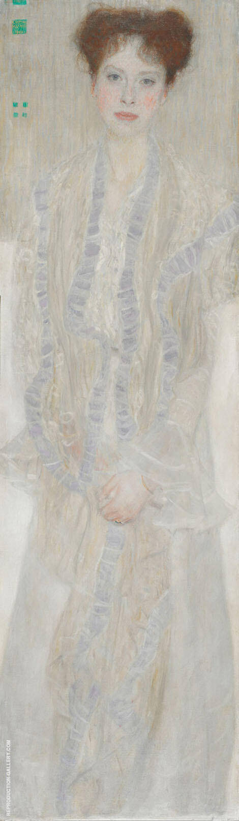 Portrait of Gertrude Loew 1902 By Gustav Klimt