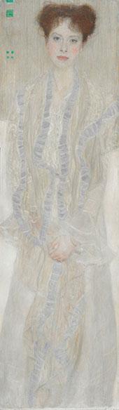 Portrait of Gertrude Loew 1902 By Gustav Klimt