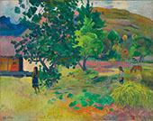 Te Fare La Maison 1892 By Paul Gauguin