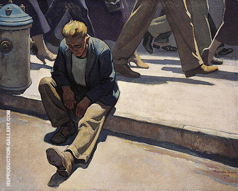 Forgotten Man 1934 By Maynard Dixon