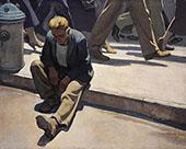Forgotten Man 1934 By Maynard Dixon
