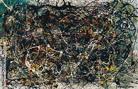 Untitled 1947 12 By Jackson Pollock