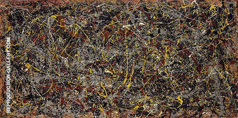 Number 5 1948 Original Painting By Jackson Pollock - Reproduction Gallery