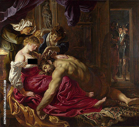 Samson and Delilah c1609 By Peter Paul Rubens