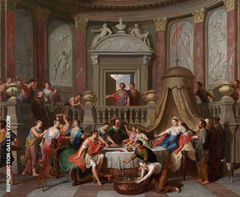 The Banquet of Cleopatra By Gerard Hoet