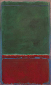 No 7 Green and Maroon 1953 By Mark Rothko (Inspired By)