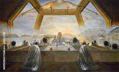 The Sacrament of the Last Supper 1955 Painting By Salvador Dali