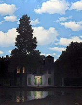 Empire of Light c1953 By Rene Magritte